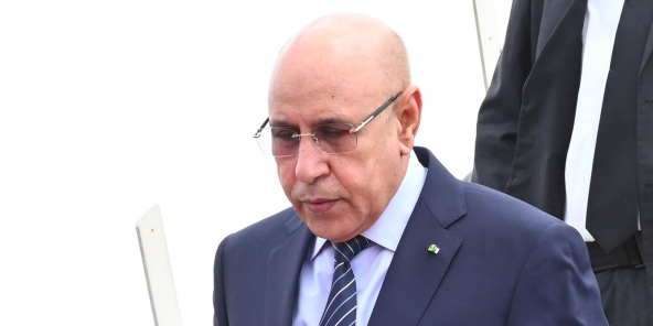 """Un Journal local qualifie le président Ghazouani de """"véritable Homme d'Etat"""""""