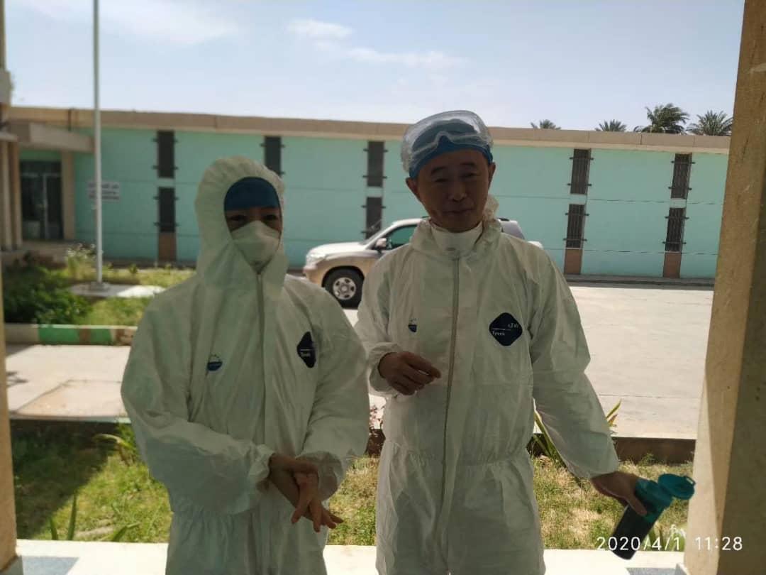 Mauritanie : Les appareils chinois pour le dépistage du Covid-19 fonctionnent normalement