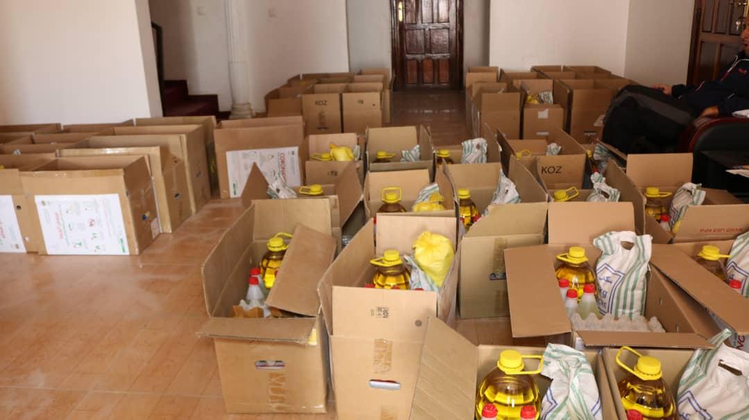 Covid-19 : le CNOSM distribue des denrées et contribue au Fonds spécial