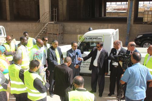 Quatre délégations régionales du ministère du Commerce dotées de nouveaux véhicules