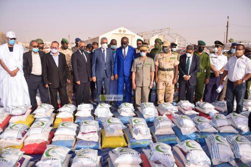 Lancement de l'opération d'aides alimentaires à 20.000 familles à Nouakchott