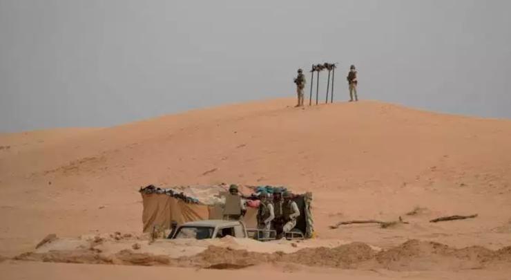 Mauritanie : le tableau de chasse aux intrus depuis les frontières
