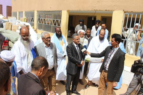 Remise d'équipements à l'Association Errahma pour la toilette mortuaire