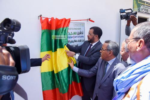 Inauguration de la mosquée de la radio coranique