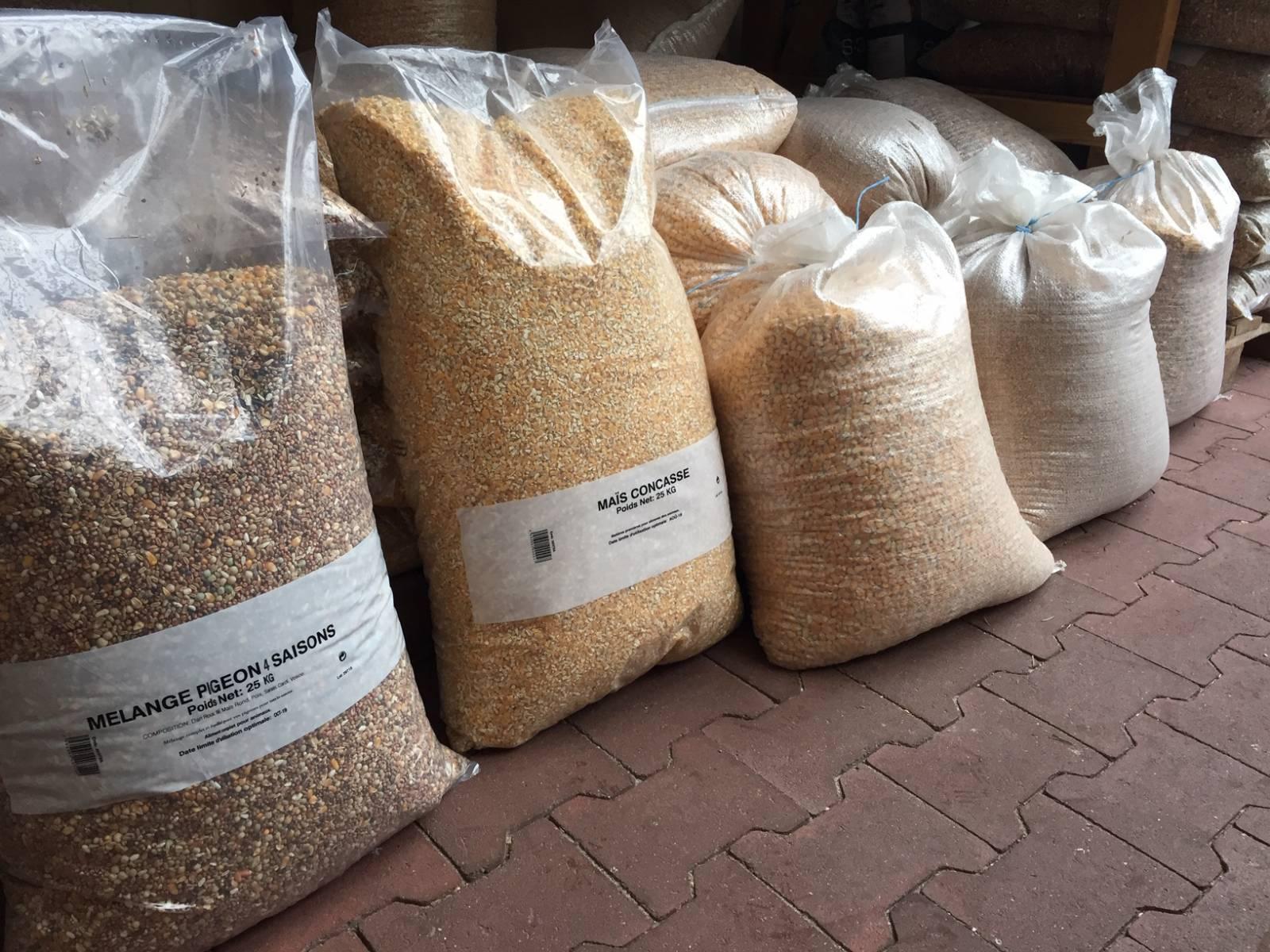 L'arrivée de la dernière cargaison de blé du programme rural