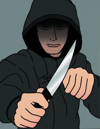 Une source sécuritaire : « pas de bandes organisées portant des armes blanches dans les rues »