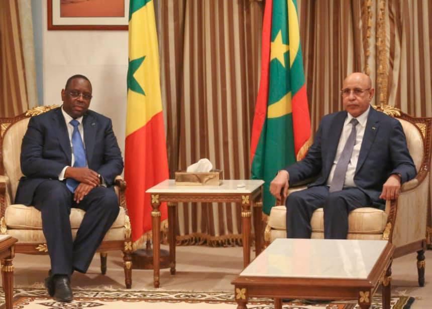 Le président de la République en contact téléphonique avec son homologue sénégalais