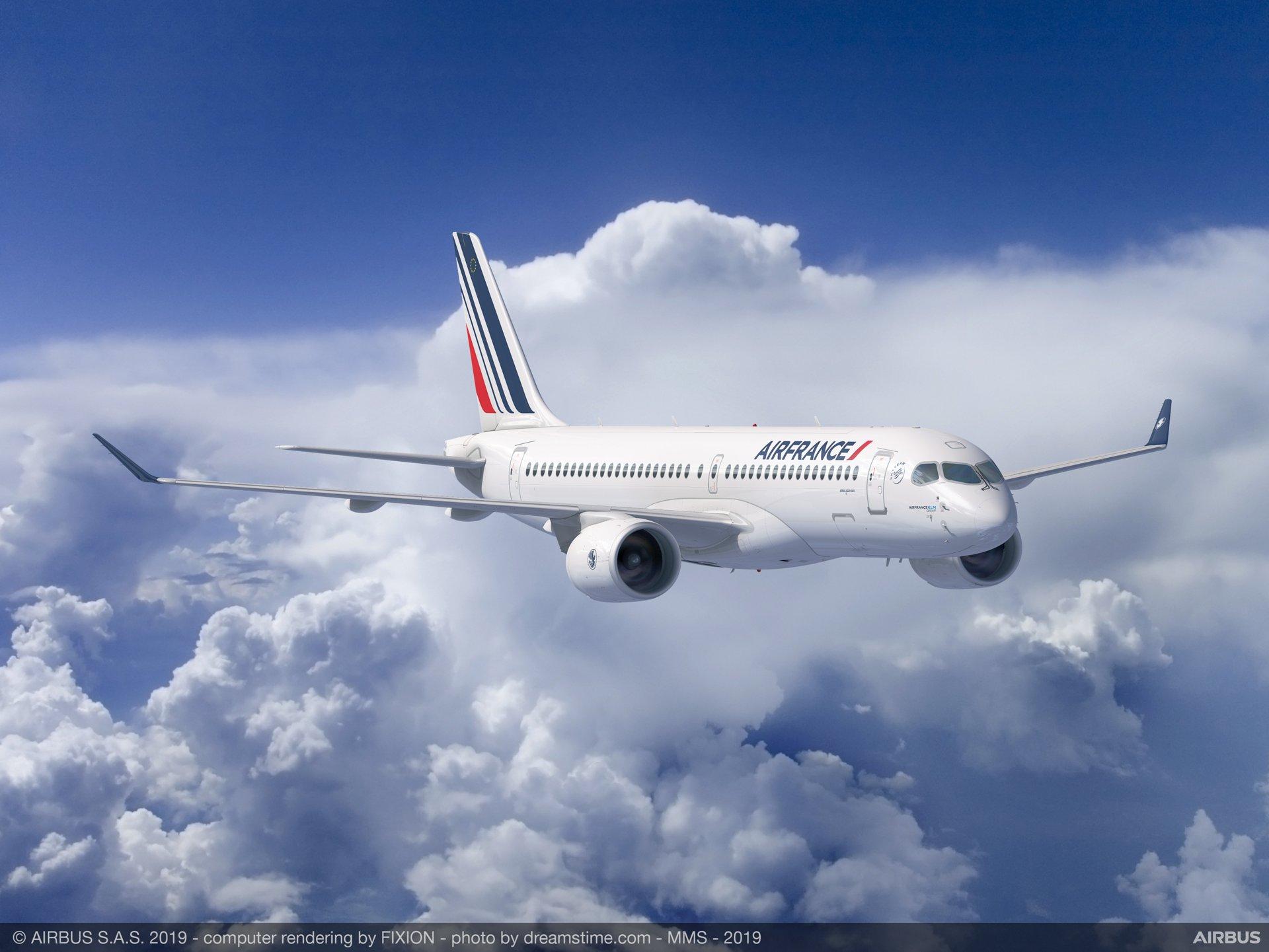 Vol Air France reporté à demain : seul l'embarquement autorisé