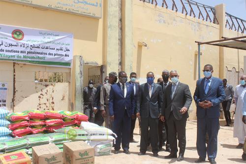 Les détenus des prisons de Nouakchott bénéficient d'une aide du CDHARP