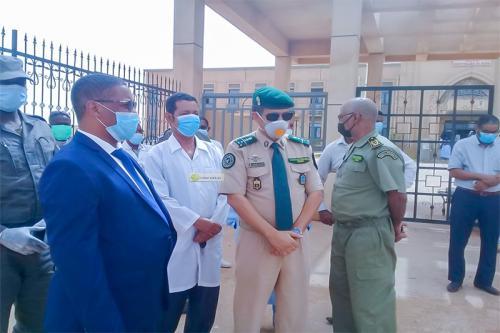Le wali de l'Assaba visite le centre hospitalier de Kiffa
