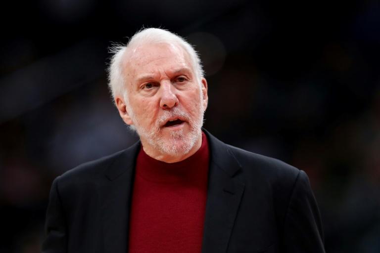"""NBA: les Etats-Unis sont """"en danger à cause du racisme"""", déplore Popovich"""