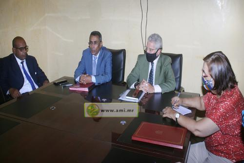 Signature du protocole de mise en œuvre du projet de renforcement de la protection des victimes des violences basées sur le genre