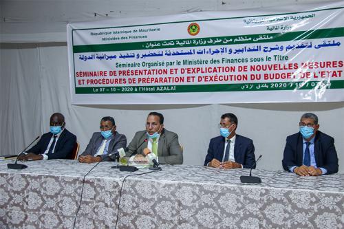 Le Ministère des Finances présente les nouvelles procédures de préparation et d'exécution du budget de l'Etat