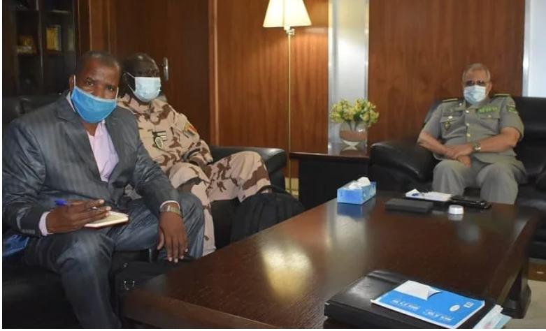 Le chef d'état-major général des armées évoque la question des droits de l'homme avec des responsables onusiens