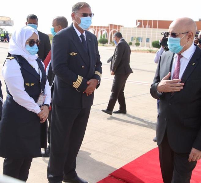 Première femme mauritanienne aux commandes de l'avion présidentiel
