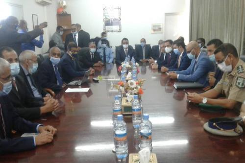 Le ministre du Pétrole visite la Société Nationale Industrielle et Minière