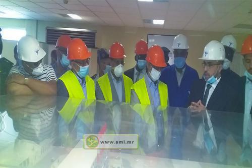 Tiris-Zemmour : Le ministre du Pétrole s'enquiert des défis et problèmes posés aux installations de la SNIM à Zouerate