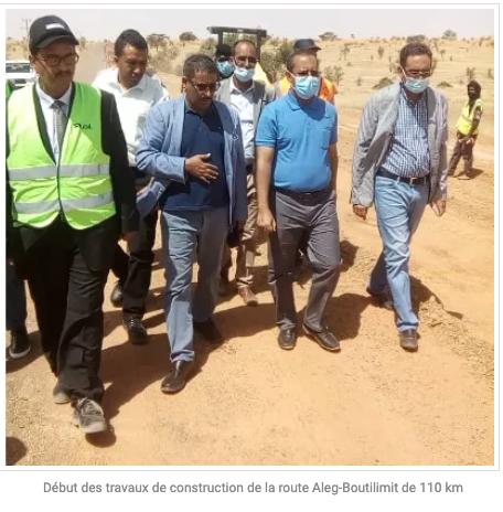 Début des travaux de construction de la route Aleg-Boutilimit de 110 km