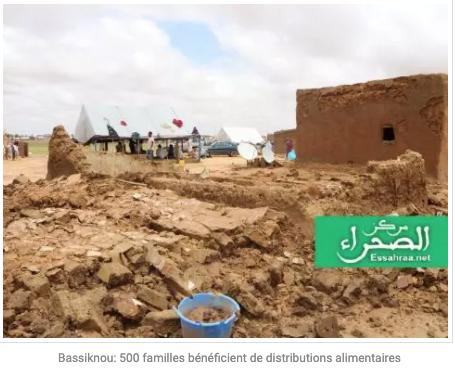 Bassiknou: 500 familles bénéficient de distributions alimentaires