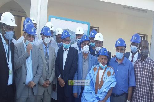 Le ministre du Pétrole visite le centre de formation de la SNIM