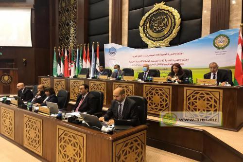 Démarrages des travaux de la 33ème session du conseil des ministres arabes du transport