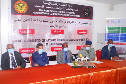 Démarrage d'une journée de sensibilisation sur la sécurité civile et la gestion des catastrophes