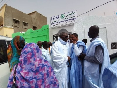 Le Parti CAP s'implante à Nouadhibou