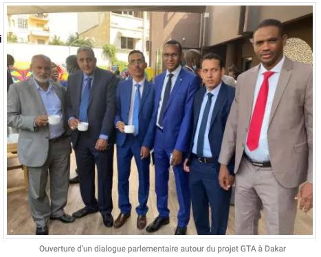 Ouverture d'un dialogue parlementaire autour du projet GTA à Dakar