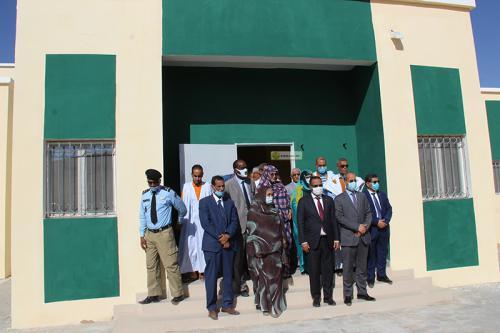 Nouakchott : Réception de l'école « Pompiers » modernisée