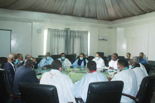 Réunion du ministre de l'Intérieur avec la coordination des parlementaires de la vallée