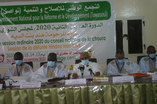 Tawassoul appelle à un dialogue politique