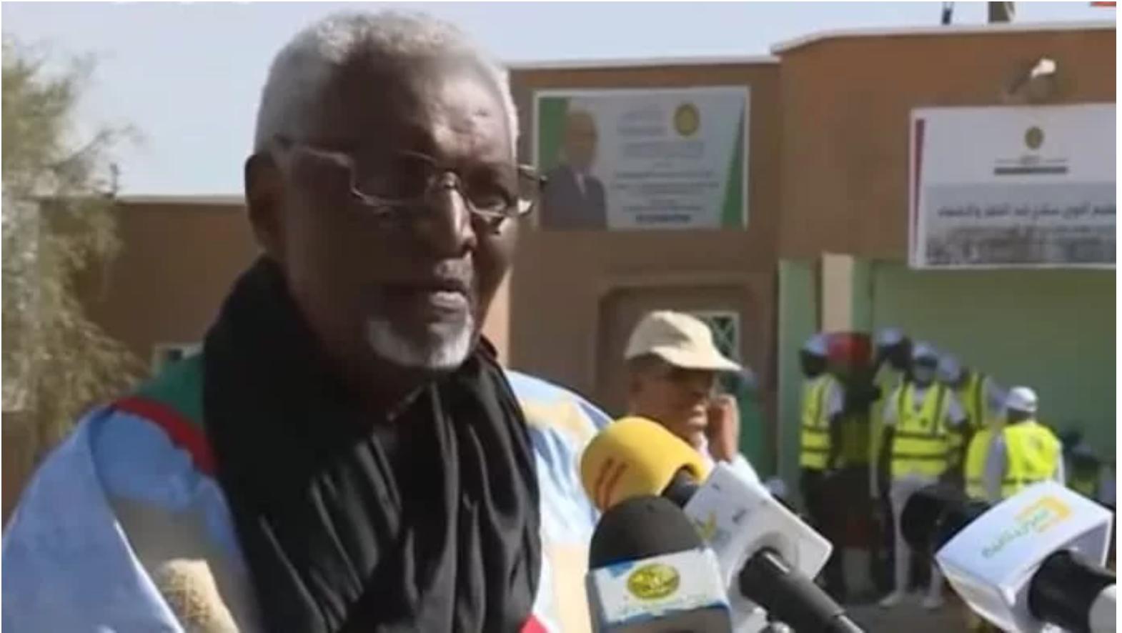 Le maire de M'Bout expose au président Ghazouani les priorités des populations de sa commune