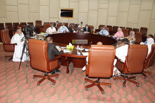 4eme réunion de la commission nationale de suivi de l'exécution du fonds de solidarité sociale et de lutte contre le coronavirus