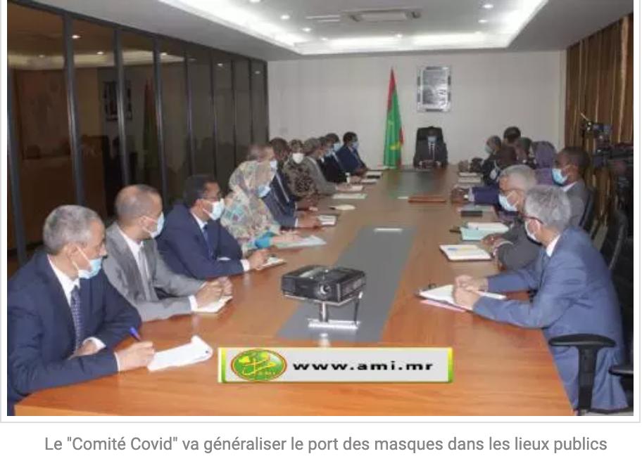 """Le """"Comité Covid"""" va généraliser le port des masques dans les lieux publics"""