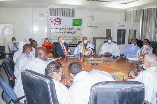 Lancement des activités du groupe parlementaire d'amitié mauritano-britannique