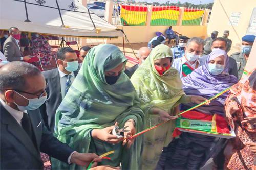 Nouadhibou: La première Dame inaugure un centre de protection et d'intégration sociale des enfants