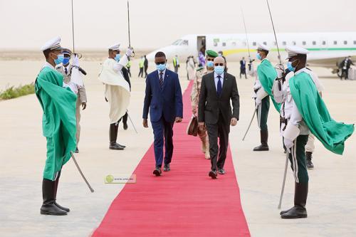 Le Président de la République regagne la capitale en provenance de Sélibabi