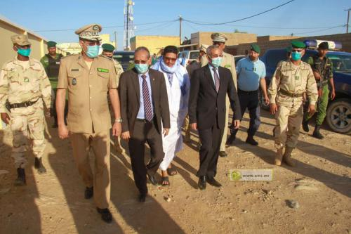 Le ministre de la Défense inaugure 4 sièges de brigades de la gendarmerie au Gorgol