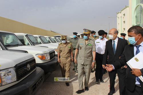 La direction générale de la sûreté nationale reçoit le premier lot d'assistance japonaise en appui à la sécurité nationale