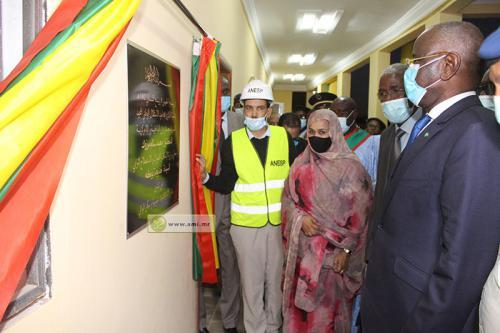 Le ministre de l'Intérieur inaugure les nouveaux locaux de la wilaya de Nouakchott Sud