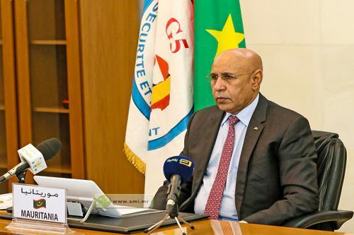 Le Président de la République plaide pour l'annulation de la dette des pays du G5 Sahel