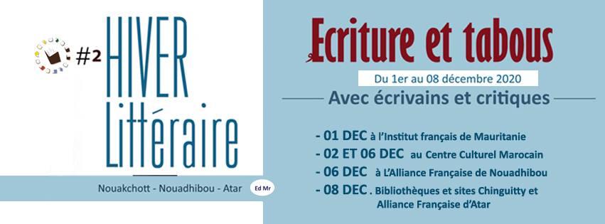 «Traversées Mauritanides» lance sa 2ème édition «Hiver Littéraire»