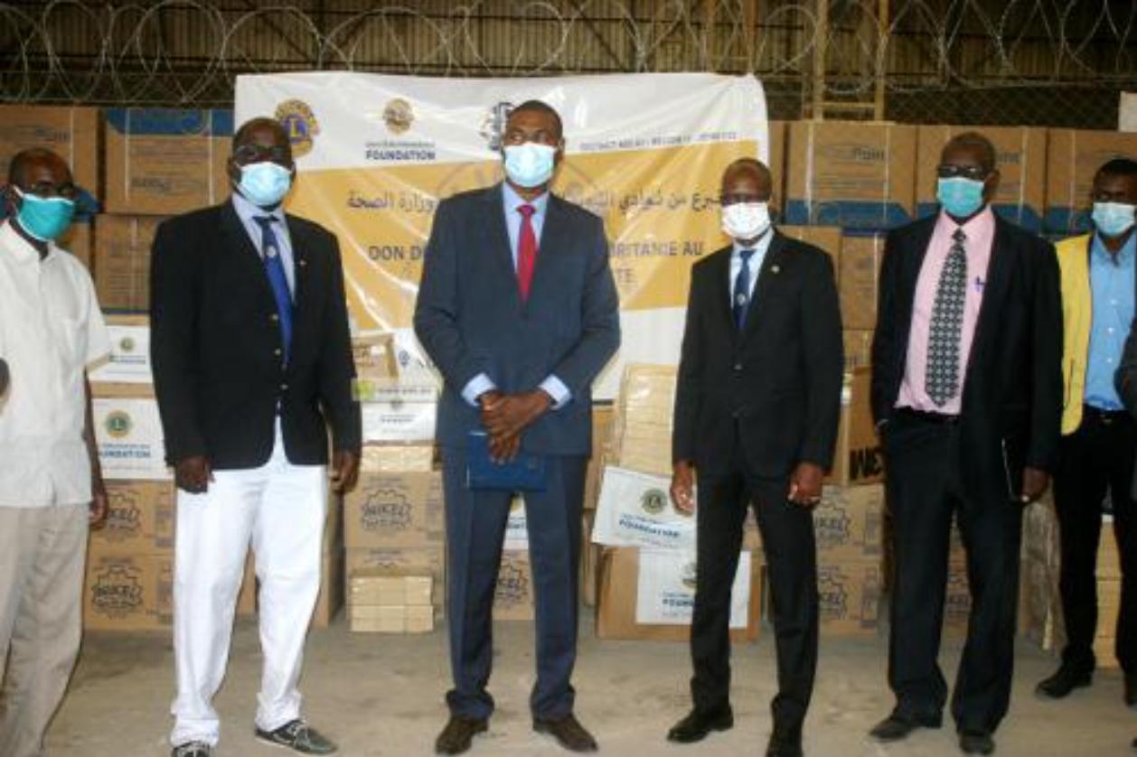 Le ministère de la Santé reçoit une aide médicale fournie par les «Lions» clubs de Mauritanie