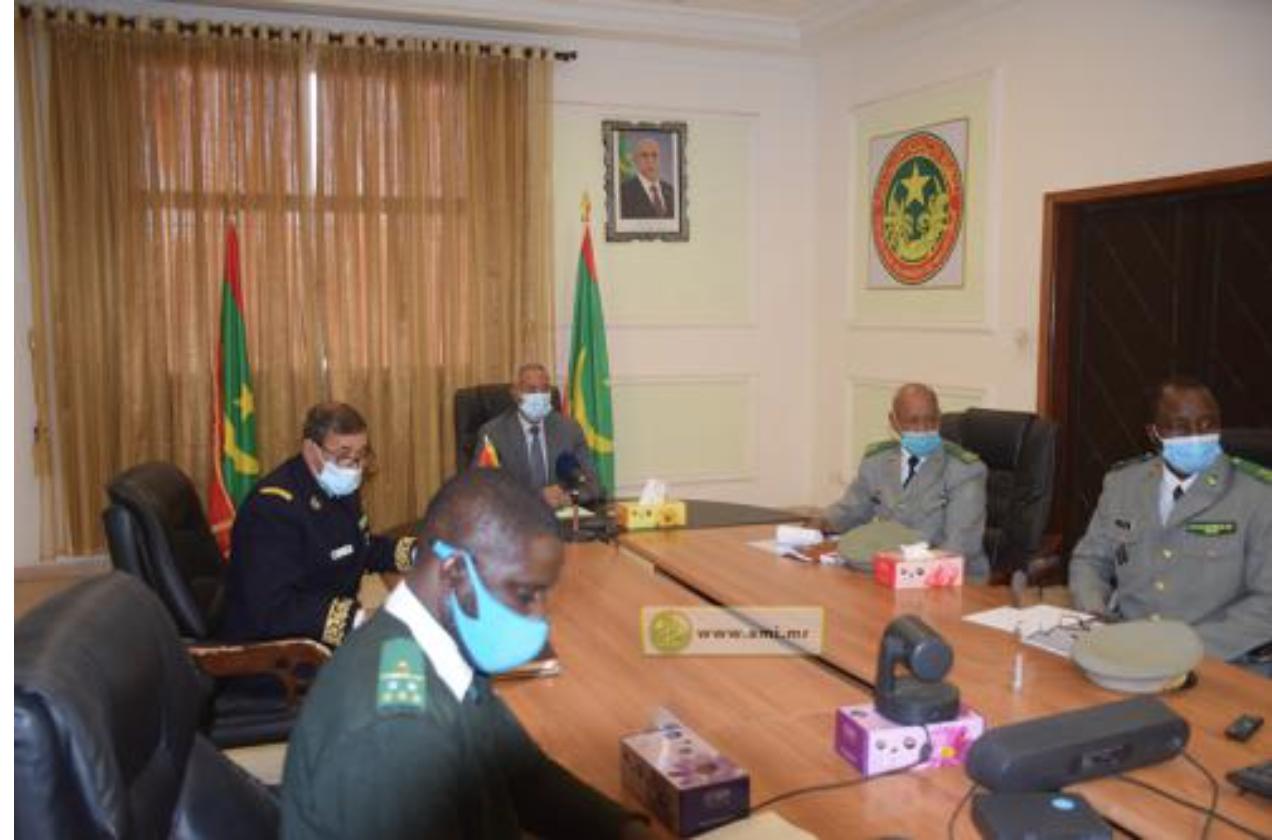 Le ministre de la Défense nationale participe à la 13e réunion de l'Initiative 5+5-Défense