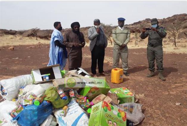Wilaya Incinération de produits alimentaires périmés