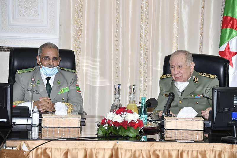 Alger veut renforcer la coopération militaire avec Nouakchott