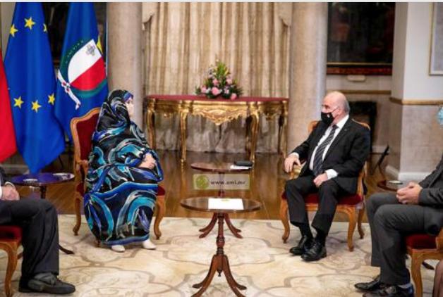 L'ambassadrice de la Mauritanie à Malte présente ses lettres de créances