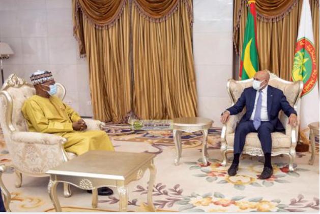 Le Président de la République reçoit l'émissaire du secrétaire général de l'Onu pour l'Afrique de l'Ouest et le Sahel