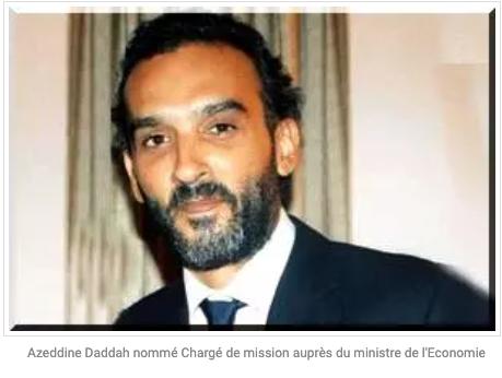 Azeddine Daddah nommé Chargé de mission au Ministère de l'Economie