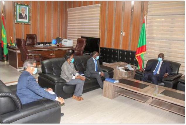 Le ministre de l'intérieur reçoit une mission de l'Organisation Internationale pour les migrations